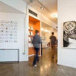 Robot Creative's office is a former art gallery space in the heart of Southtown San Antonio.