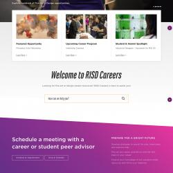 RISD Careers homepage